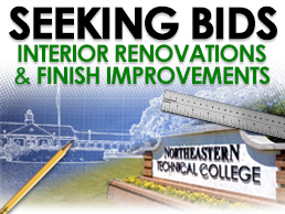 Seeking Bids for Interior Renovations and Finish Improvements