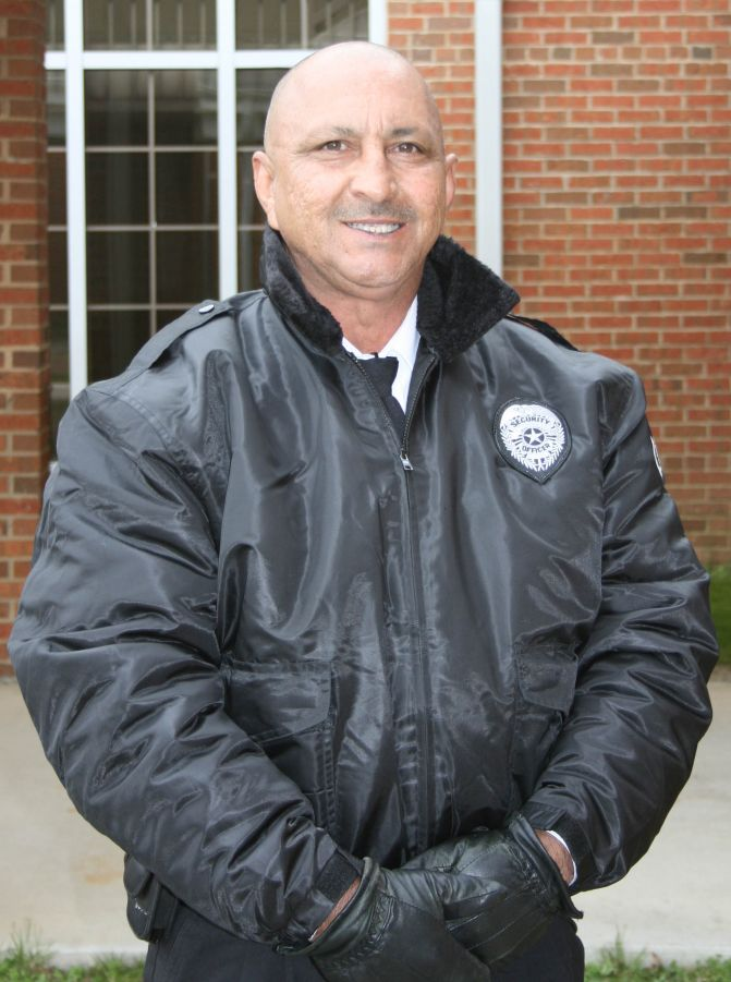 Security officer David Lowery