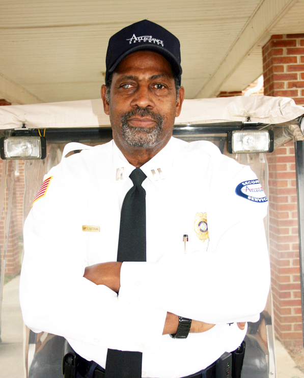 Security Officer Edward Easterling