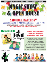 Chesterfield County First Steps - Compass Point 4K Open House and Magic Show